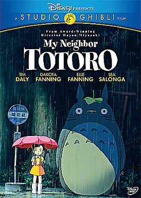 My Neighbor Totoro Sealed Authentic 2-Disc DVD Comes w/ Slipcover