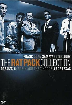THE RAT PACK COLLECTION 3 DVD's Frank Sinatra Dean Martin Sammy DVD SET NEW