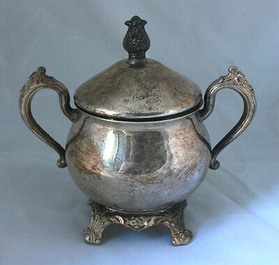 Vintage FB Rogers Silver Co. Silver Sugar Bowl Only Collectible #14
