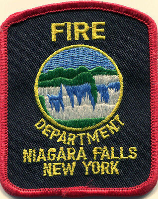 Niagara Falls NY Fire Department Patch Embroidered MINT