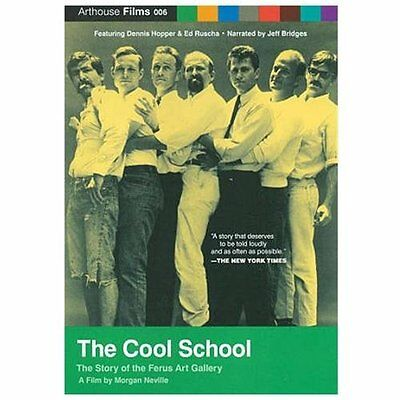 Cool School: How L.A. Learned to Love Modern Art (DVD, NEW, 2010) Arthouse Films