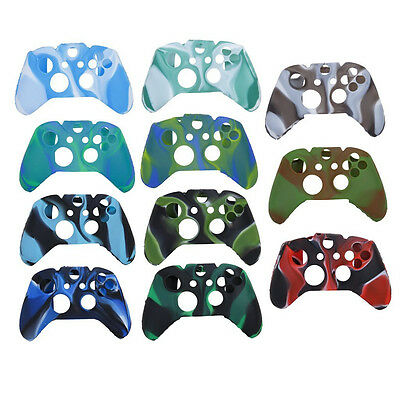 Soft Silicone Skin Case Cover for XBOX ONE Game Wired Wireless Controller US