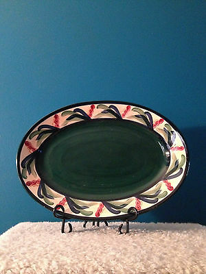 "Gail Pittman ""Juniper"" 16"" Oval Serving Platter"
