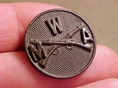 Original Us Wwi Era Wentworth Military Academy Collar Disk