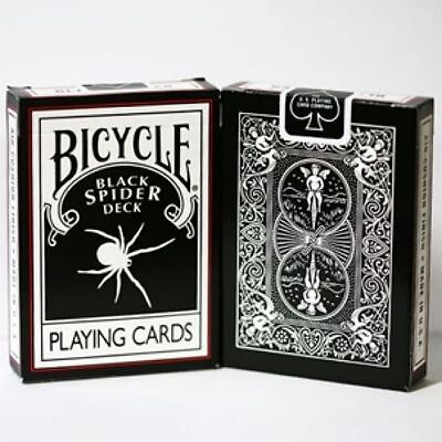 Bicycle Black Spider Playing Cards New/Sealed - Limited Edition Deck