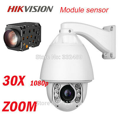 1080P 2.0MP Hikvision Auto tracking PTZ Camera 30x zoom Security cctv ip camera