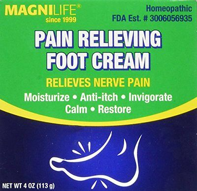 NEW MagniLife Pain Relieving Foot Cream FREE SHIPPING