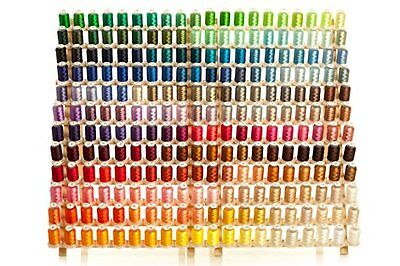 NEW 260 Large Spools Embroidery Machine Thread FREE SHIPPING