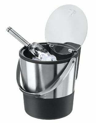 NEW Oggi Double Wall Ice Bucket with Flip Lid and Stainless Scoop FREE SHIPPING