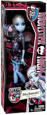Monster High Coffin Bean Abbey Bominable Doll New in Box Easter Gift Punk Goth