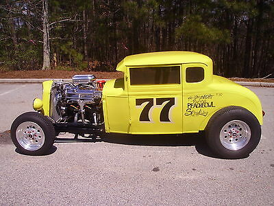 Ford : Model A 5 Window Coupe 1931 ford model a coupe 99 model vortec 350 engine 400 turbo transmission look