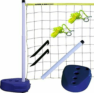 Park & Sun Sports Portable Indoor Outdoor Swimming Pool Volleyball Net System