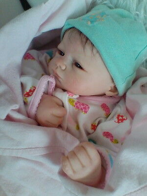 Reborn Baby  Moby by Marissa May  ADORABLE!  MUST SEE!  6 POUNDS OF  AMAZING!