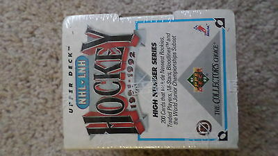 1991 1992 UPPER DECK High Number Factory sealed Sets Rookies Hockey Cards