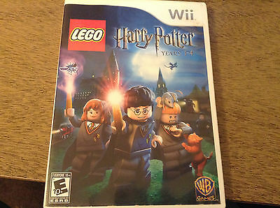 LEGO Harry Potter: Years 1-4  (Wii, 2010) Tested & Working - Disc Only