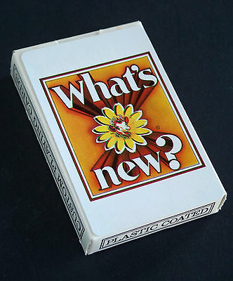 """SEALED NOS ~ Vintage BORDEN'S Dairy Elsie The Cow """"What's New?"""" Playing Cards"""