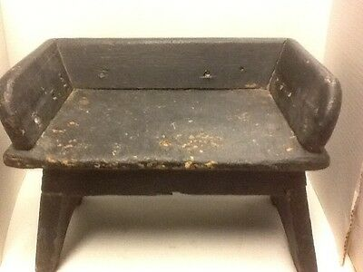Vintage bucket milk bench