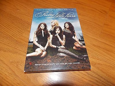 Pretty Little Liars: The Complete First Season 1 (DVD, 2011, 5-Disc Set) TV SHOW