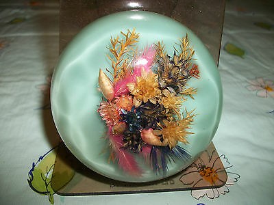 Vintage Scottish paperweight ,bought in Argyll ,Scotland with original label