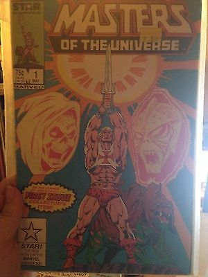 MASTERS OF THE UNIVERSE (STAR) ISSUE #1 - 10 GEM MT - MARVEL COMICS
