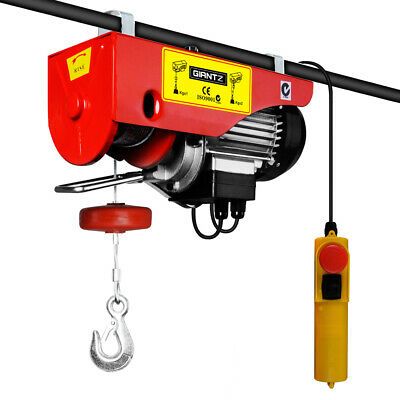 300/600KG 1200 W Electric Hoist Winch Garage Workshop Warehouse Lifting