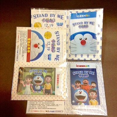 Doraemon Stany By Me Taiwan 7-11 Top up Collectible Card Set