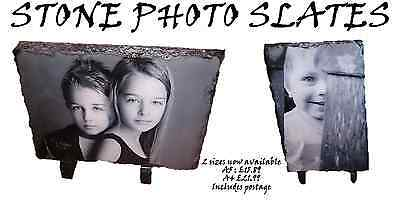 Personalised Photo Rock Slate .