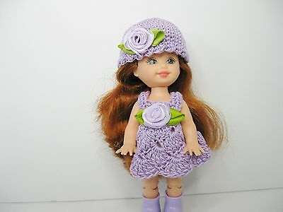 New Kelly doll plus outfit, Lavender  Dress and Purse Clothes/ accessories