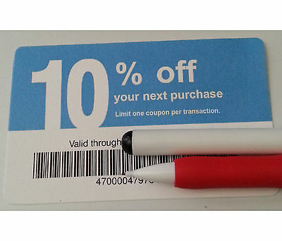 Twenty (20) LOWES Coupons 10% OFF At Competitors Only NOT LOWES Exp Aug 15, 2015