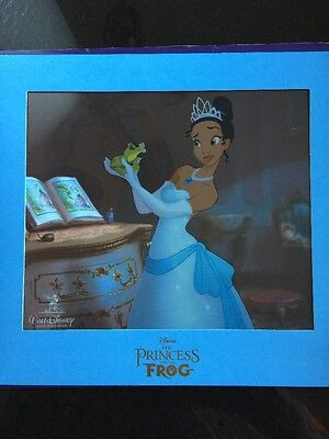 Disney Princess & The Frog Limited Edition Animation Cel Cell Tiana