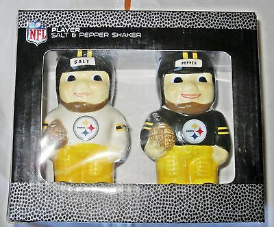 Pittsburgh Steelers Salt & Pepper Shakers NFL Officially Licensed Product