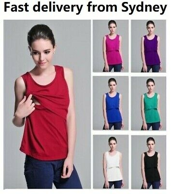 Breastfeeding top,Nursing dress,breastfeeding dress,8-18,Polyester,sleeveless