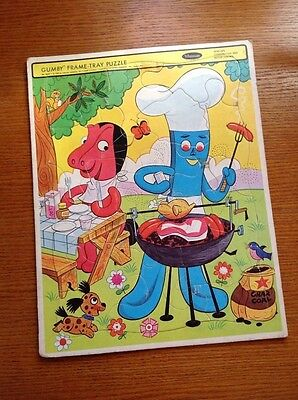 Whitman Gumby and Pokey jigsaw puzzle vintage 1968