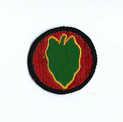 ORIGINAL WW2 U.S. ARMY-VINTAGE 24TH INFANTRY PATCH-NEW,