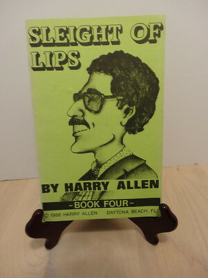 SLEIGHT OF LIPS.HARRY ALLEN. # 4  GREATEST MAGIC COMEDY MIND EVER...