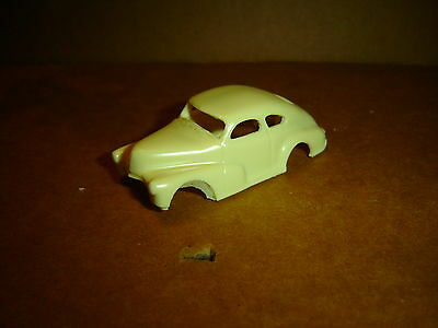 custom resin 1947 chevy fairgrounds racer  ho slot body fits your tjet chassis