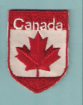 Maple Leaf Canada Vacation Country Souvenir Vintage Travel Vacation Patch