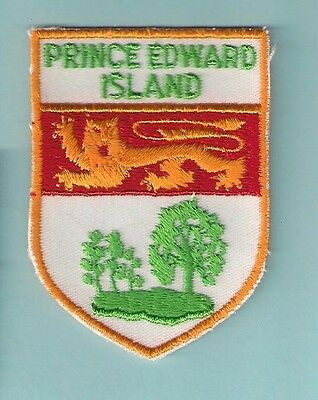 Prince Edward Island Canada Vintage Country Souvenir Travel Vacation Patch