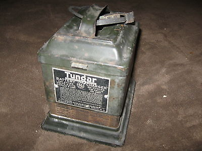 Fabulous Vintage Tungar Battery Charger By General Electric - VERY Old - LOOK!!!
