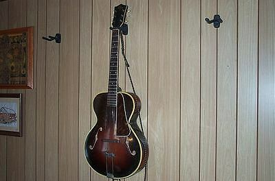 Vintage 1940s Kay Flame Maple Archtop Acoustic Double Checkerboard Binding! WOW!