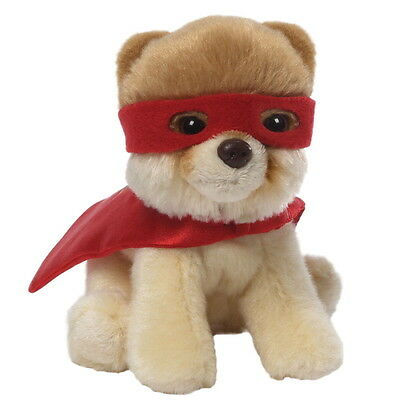 NEW OFFICIAL GUND Boo The World's Cutest Dog Superhero Itty Boo Plush 4046473