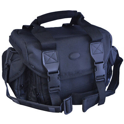 Vivitar Padded SLR Gadget Bag for SLR Cameras - Large (BLACK) ***BRAND NEW***