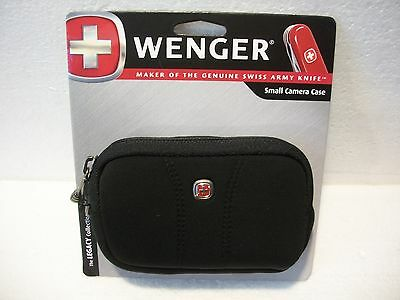 Wenger - Legacy Case for Most Compact Digital Cameras - Black With Belt Loop New