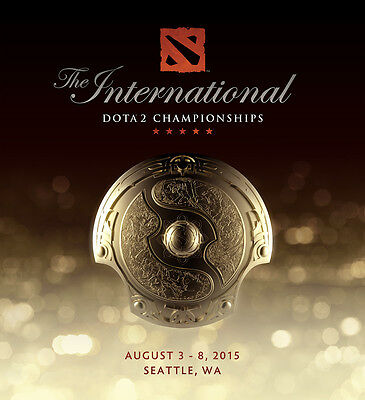 Dota 2: The International 2015 (TI5) General Admission GA Ticket SOLD OUT