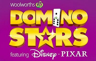 Woolworths Domino Stars **MOST DOMINOES AVAILABLE**