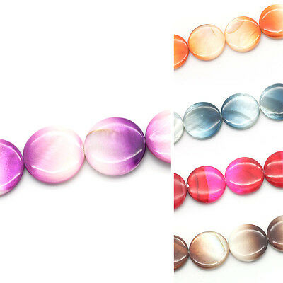 """1 Strand Shell Loose Beads Round 20mm( 6/8"""") Dia.M1020"""