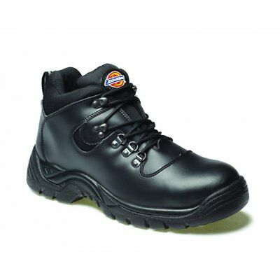 Dickies Fury Work Boot Steel Toe Cap Super Safety Hiker with Black size 6-12 uk