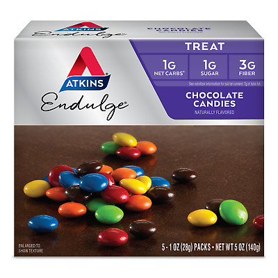 Atkins Endulge Chocolate Candies 140 g, Sugar Free, Low Carb