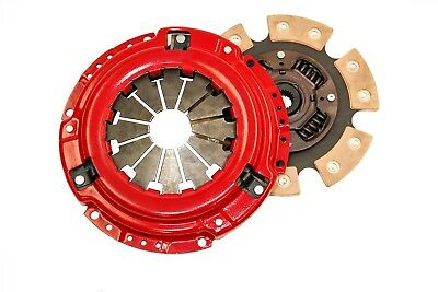 Yonaka 90-91 Honda Civic 6 Puck Performance Stage 3 Heavy Duty Clutch Kit 400hp