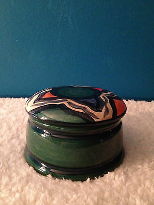 "Gail Pittman ""Green Azalea"" Trinket Box  -Discontinued Pattern 1994-2008"